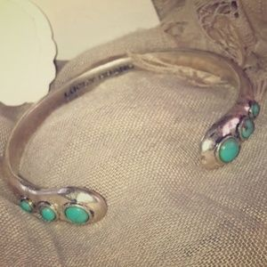 Lucky Brand Turquoise Cuff Bracelet